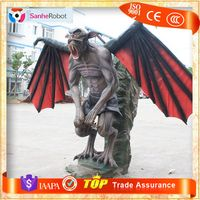 SH-F047-01High Simulation Customized Animatronic Devil Life Size Monster