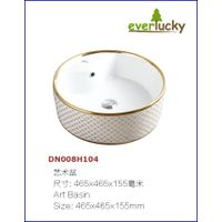 Ceramic Art Basin With Excellent Quality And Price DN008H104 thumbnail image