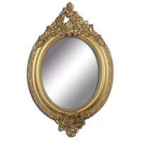 Oval Mirror Frame,