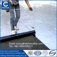 self adhesive bitumen roofing membrane with aluminum foil