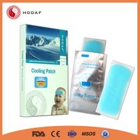 OEM Hot Sale Physical Fever Cooling Gel Patch thumbnail image