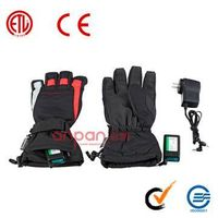 heated warm glove,rechargeable thermal glove,battery operated  glove
