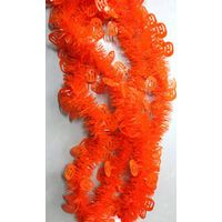 christmas tinsel with snowflake/stage decoration for festival/christmas wired tinsel garland