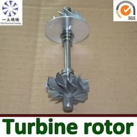 Nickel-base alloy castings turbine rotor used for boat engine