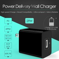 PD Charger 29W Power Adapter USB Charger Mobile Accessory Wall Charger Single Port thumbnail image