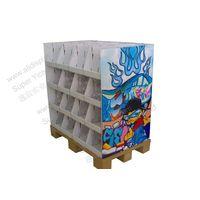 350Gram CCNB B Flute Corrugated Cardboard Shelf Flooring Display Stand thumbnail image