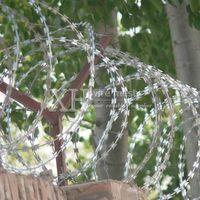 Razor Blade Barbed Wire