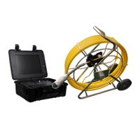 WOPSON 360 rotation pipe sewer inspection camera with DVR and locator thumbnail image