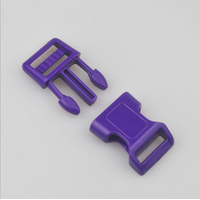 Popular pet collars buckle customimed colorful plastic release buckle