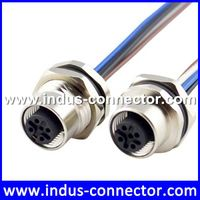 Equivalent to binder female 5 pin m12 connector