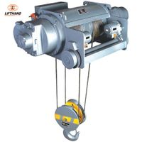 New Design Single Girder or Double Girder Hitachi Size 7.5t Electric Wire Rope/Steel Cable Lifti thumbnail image