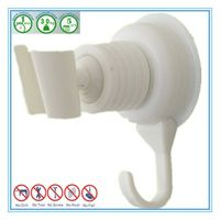 Silicone Suction Shower Holder with Towel Hook