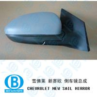 chevrolet sail review mirror