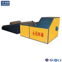waste radial scrap tire cutting equipment