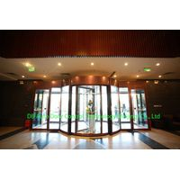 2 wing automatic revolving door China manufacture thumbnail image