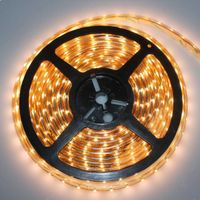 LED Flexible Strip, Made of Flexible Copper Material, 12V DC Voltage, 60 LEDs/m LED, 4.8W/m Power thumbnail image