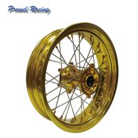 17 inch Aluminium alloy motorcycle Spoke wheels sets for Supermoto thumbnail image
