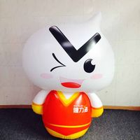 custom plastic inflatable cartoon toys