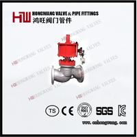 China Factory Full Bore Flange Pneumatic Globe Valve thumbnail image