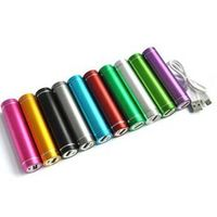 Rechargeable power bank with stainless steel deisgn