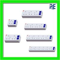 universal 3 pin extension socket power strip thumbnail image