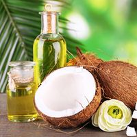 Crude refined cold pressed virgin coconut oil thumbnail image