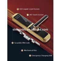 Apartment finger print locks electric door locks smart door locks thumbnail image