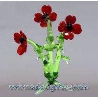 China hand-blown Glass Flowers Glass Plants thumbnail image