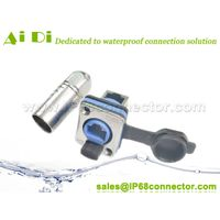 RJ45 LED Signal Aviation Connector and Socket Waterproof Couplers