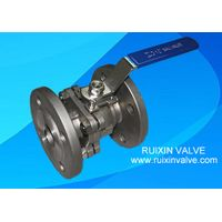 API 608 Floating Ball Valve with ISO Mounting Pad DIN Standard