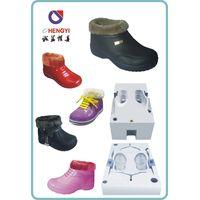eva injection cotton shoes mould
