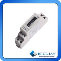 230V120A Single Phase Smart Din-Rail Meter With Two Wires Energy Meter SO Output thumbnail image