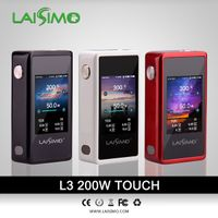 e cig L3 touch screen 200w vape mod
