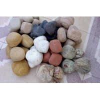 multi color sandstone pebbles