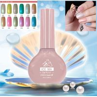 2017 Fashional Shell gum Gel Nail Soak-Off Nail Primer UV/LED Colorful series Gel Nail Polish