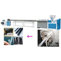 150kg/h SJ-65 soft pvc  window seal extruder