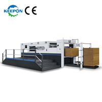 MHC-BLC Series Semi-automatic Die Cutting Machine with Stripping Section and Front Edge feeding