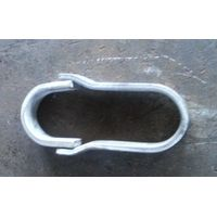 Holt hoop for boiler pipe