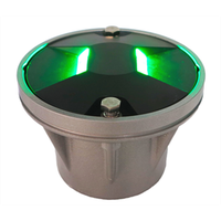 Heliport inset taxiway center lines light