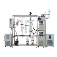 Laboratory distillation apparatus chemical jacketed glass China manufacture OEM ODM