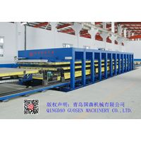 PRESS MACHINE FOR REFRIGERATOR TRUCK CARRIAGE PANEL