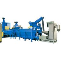 plastic recycling machine (PE PP PET)