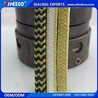 aramid packing High wear resistant Self lubricating aramid packing