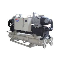 Water Screw Chiller-5 Deg. C (Dual compressors)