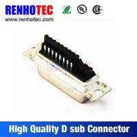 Telecom Solder VGA 180 Degree Negative Pole 8 Pin D-Sub Connector