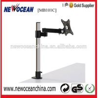 Single LCD LED Desk Mount Monitor Stand Bracket with Tilt and Swivel---MB101C