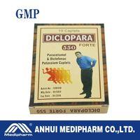 Diclofenac+paracetomal Tablets
