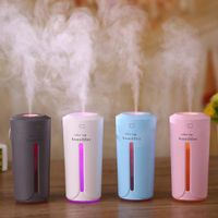 USB Smart Air Humidifiers with seven-color nightlights for office gift