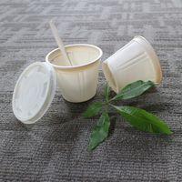 Biodegradable Food Container Cornstarch Disposable Soup Bowls with Lids thumbnail image