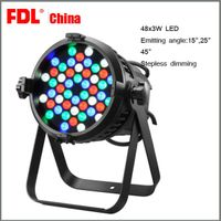 48 pcs 3w stage LED par light